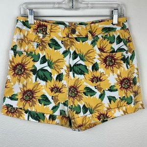 Bullhead Sunflower Mom Jean Shorts Juniors A8